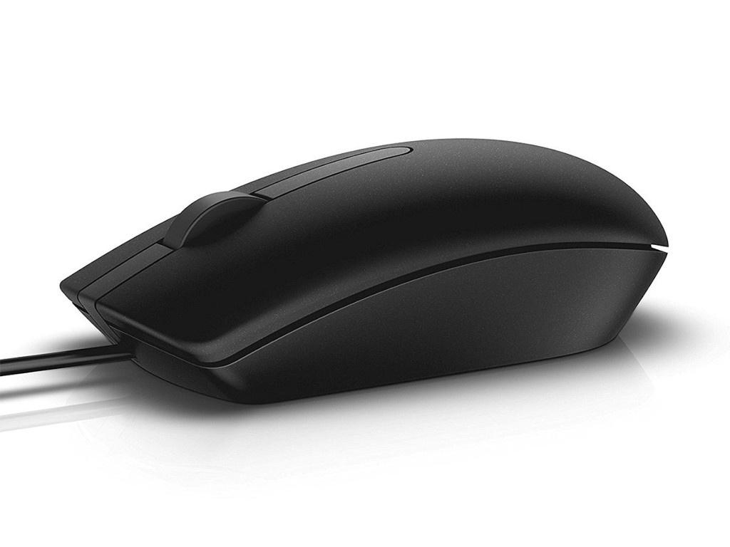 Мышь Dell MS116 Black 570-AAIS
