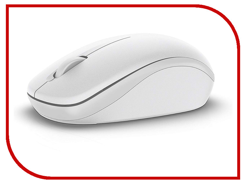 Мышь Dell WM126 Wireless Mouse White 570-AAQG et d 15 2 4g wireless mouse white