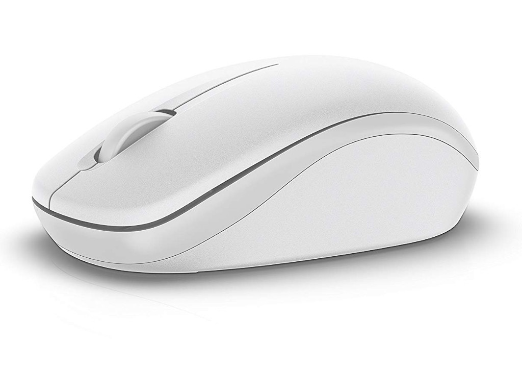 лучшая цена Мышь Dell WM126 Wireless Mouse White 570-AAQG