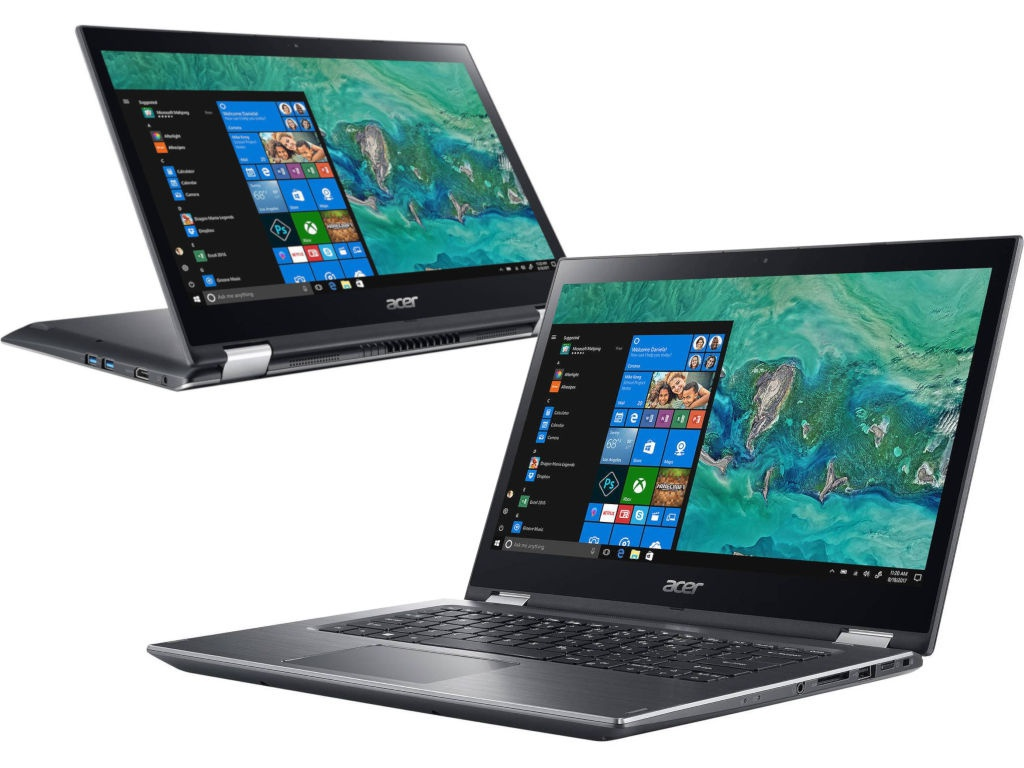 цены Ноутбук Acer Spin 3 SP314-51-51BY NX.GZRER.001 (Intel Core i5-8250U 1.6 GHz/8192Mb/256Gb SSD/Intel HD Graphics/Wi-Fi/Bluetooth/Cam/14.0/1920x1080/Touchscreen/Windows 10 64-bit)