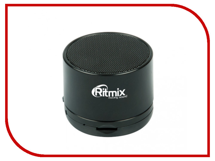Колонка Ritmix SP-130B Black портативная колонка ritmix sp 520bc green black