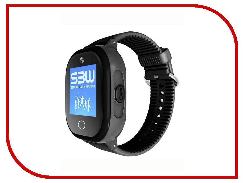 Smart Baby Watch W9 Plus Black z4 smart watch leather strap black