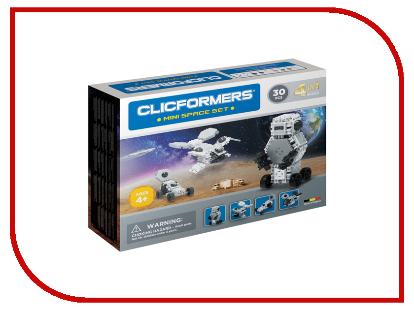 Конструктор Magformers Clicformers Mini Space Set 804003