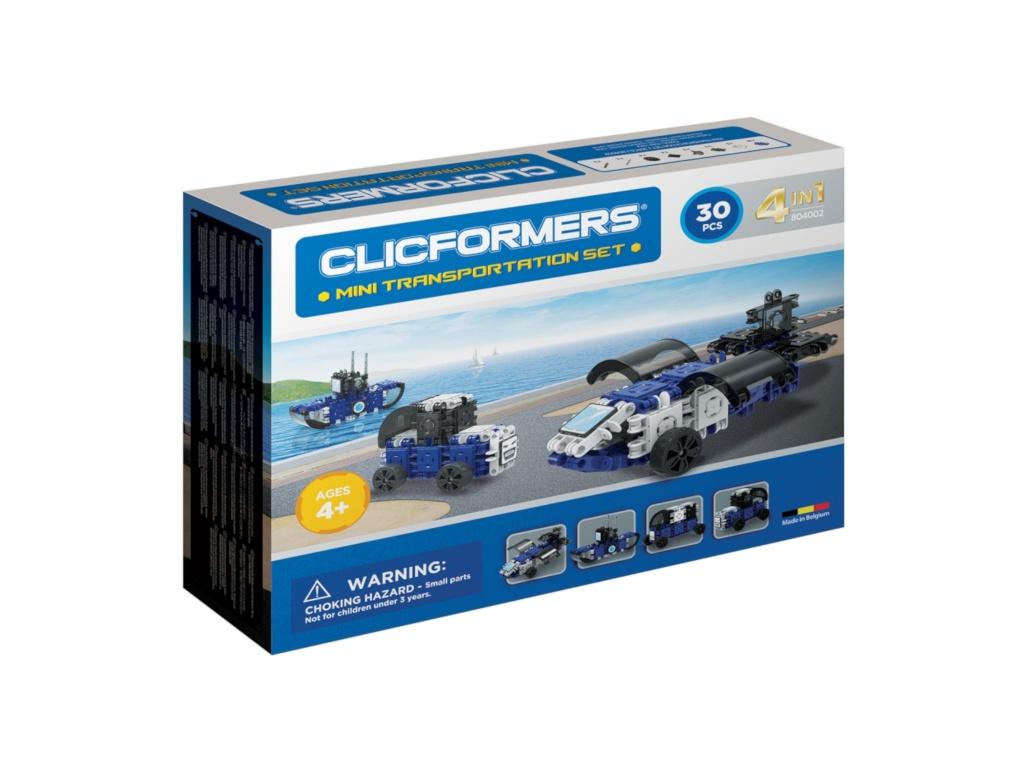 Конструктор Magformers Clicformers Mini Transportation Set 804002 clicformers конструктор clicformers transportation set mini 30 деталей
