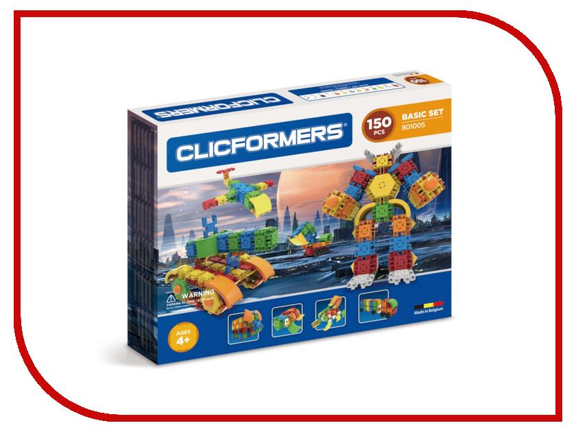 Конструктор Magformers Clicformers 801005 Basic Set 150 конструкторы clicformers construction set mini 30 деталей