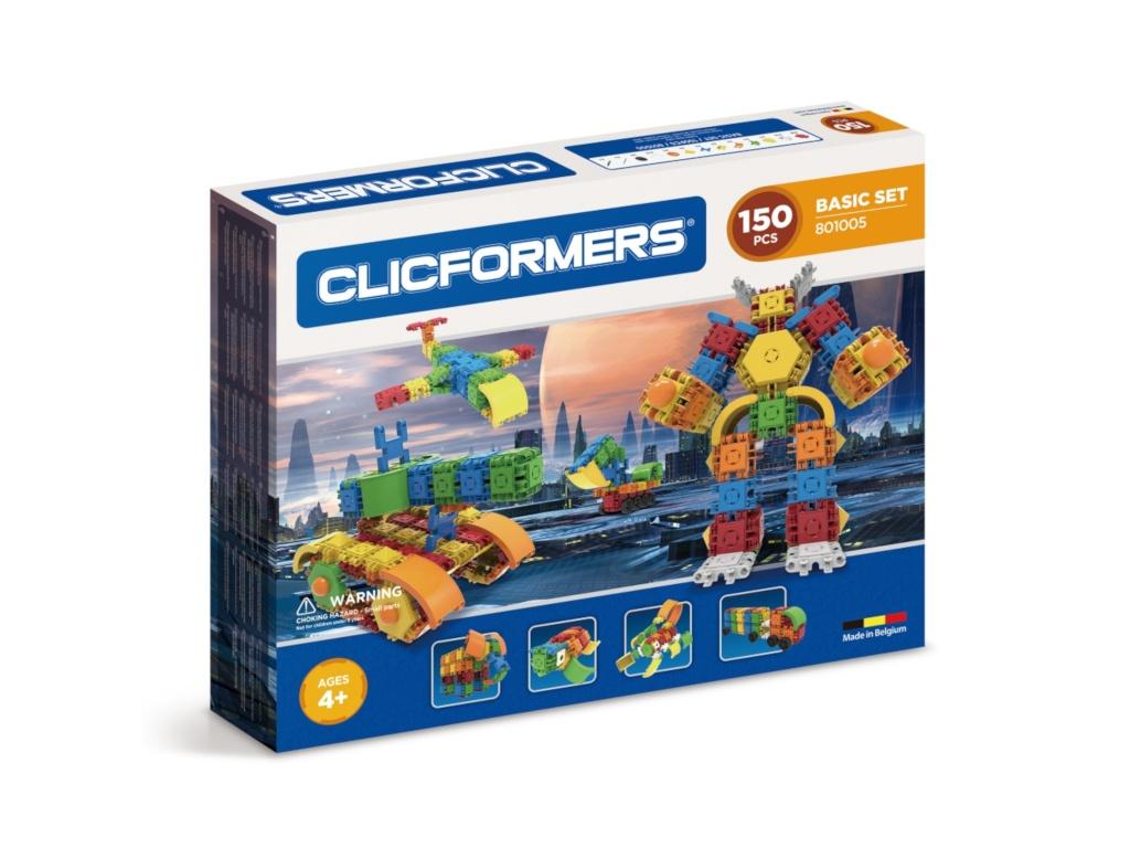 Конструктор Magformers Clicformers 801005 Basic Set 150 clicformers конструктор clicformers transportation set mini 30 деталей
