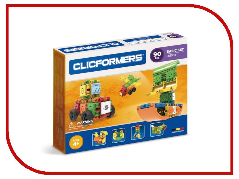 Конструктор Magformers Clicformers Basic Set 90 801003 конструкторы clicformers construction set mini 30 деталей
