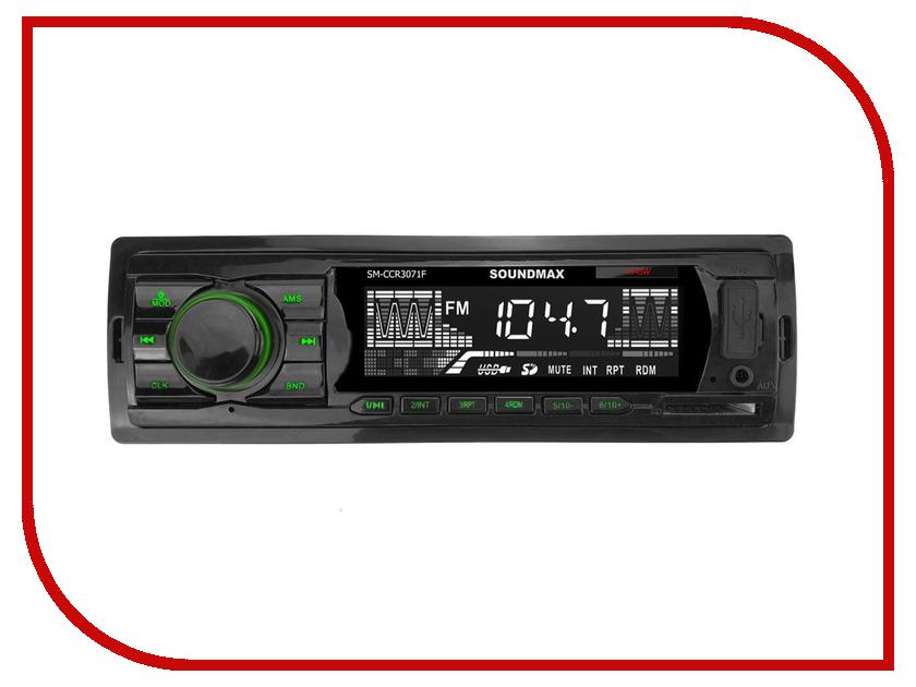 Автомагнитола SoundMAX SM-CCR3071F автомагнитола soundmax sm ccr3056f