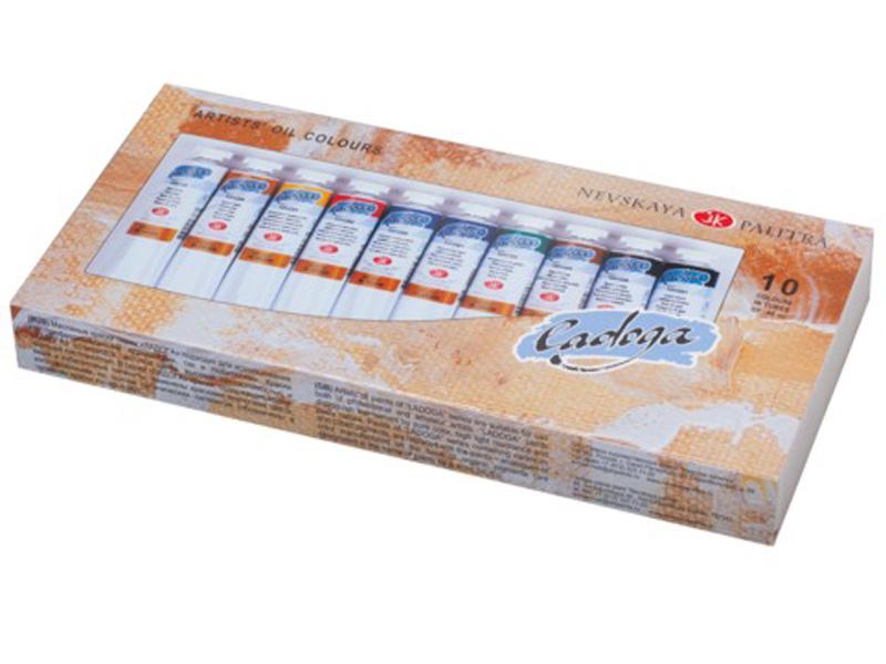 Масляные краски Невская Палитра Ладога 10 цветов 1241006
