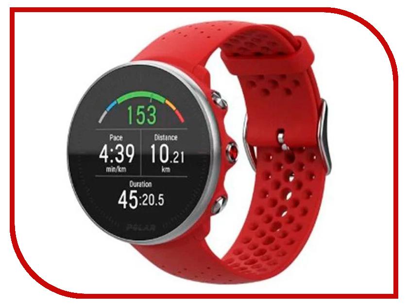 Умные часы Polar Vantage M Red polar f55 red velvet