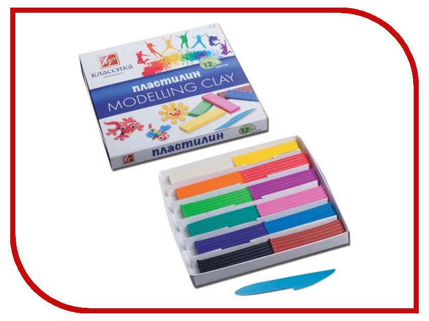 Набор для лепки Луч Классика 12 цветов 7С331-08 набор для лепки луч пластилиновая мозаика 1 овечка 10967