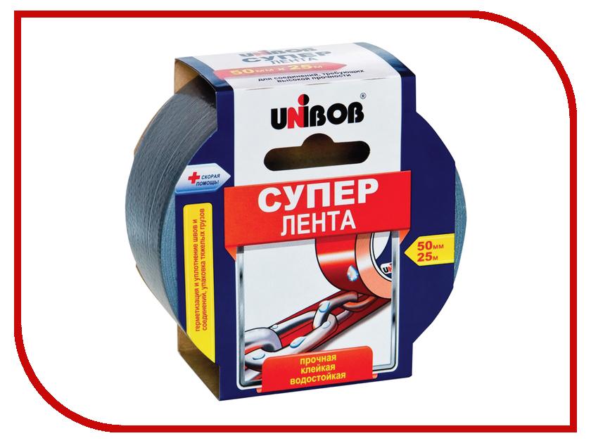Клейкая лента Unibob 50mm x 25m 44265 2 pieces adjustable thread 50mm dia round base m10 x 50mm leveling foot mount pad