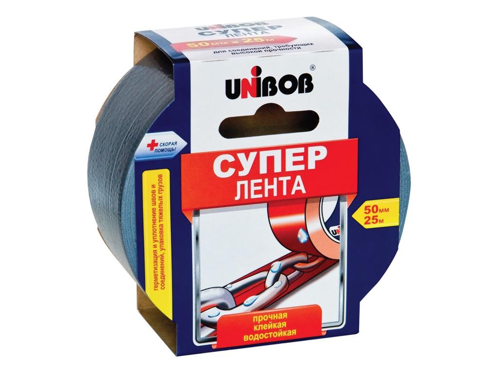 Клейкая лента Unibob 50mm x 25m 44265