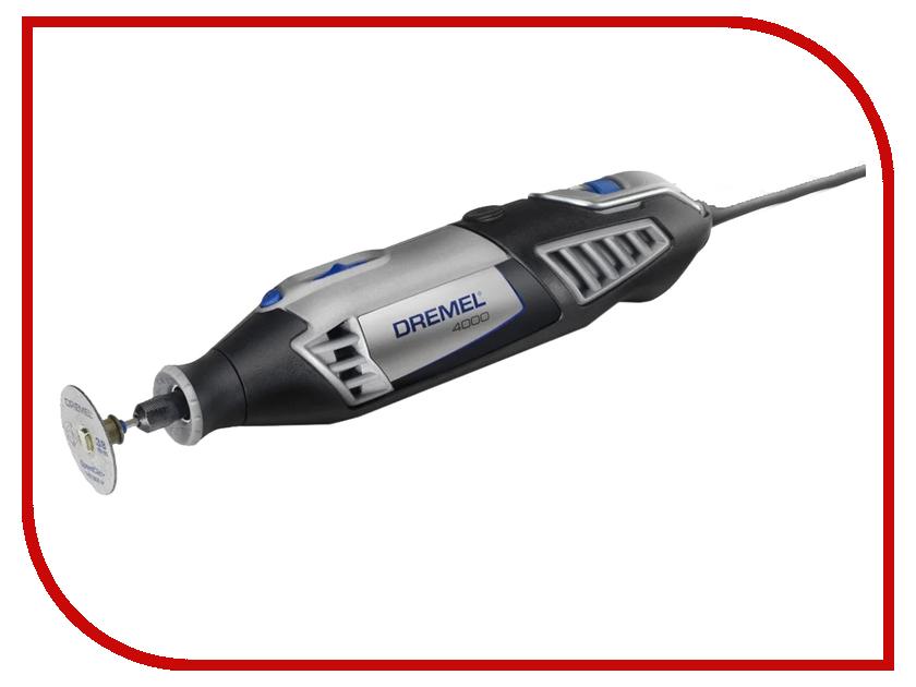 Гравер Dremel 4000-4/65 F0134000LW гравер электрический dremel 4000 1 45 f0134000jg