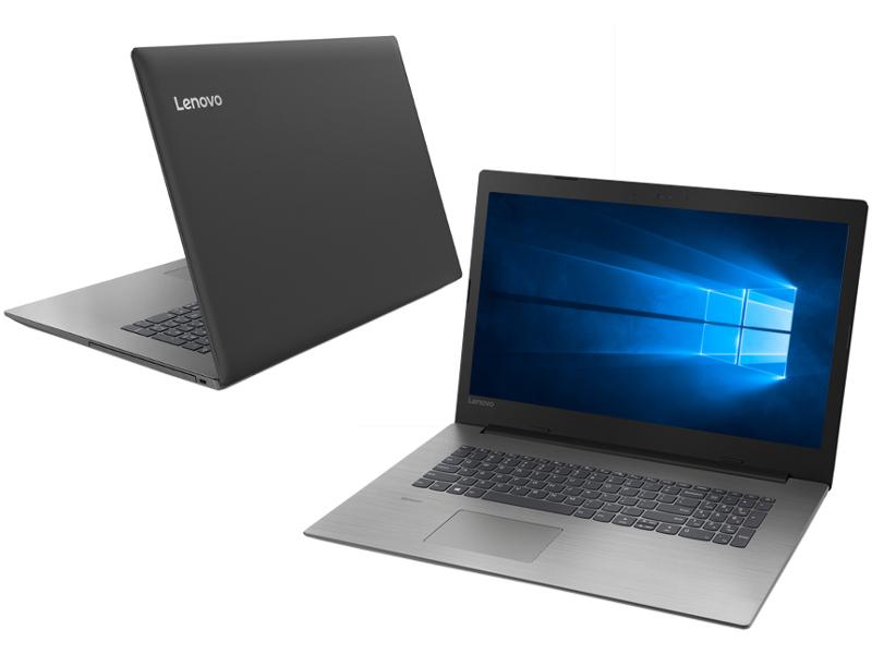 Ноутбук Lenovo IdeaPad 330-17IKB Black 81DK004ARU (Intel Core i5-7200U 2.5 GHz/8192Mb/1000Gb+128Gb SSD/nVidia GeForce MX110 2048Mb/Wi-Fi/Bluetooth/Cam/17.3/1600x900/Windows 10 Home 64-bit)