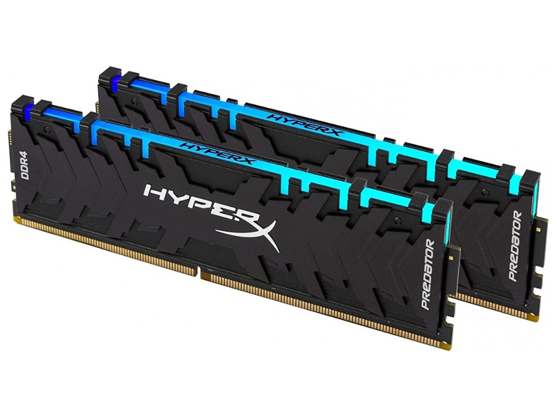 Модуль памяти Kingston HyperX Predator DDR4 DIMM 3200MHz PC4-25600 CL16 - 16Gb KIT (2x8Gb) HX432C16PB3AK2/16