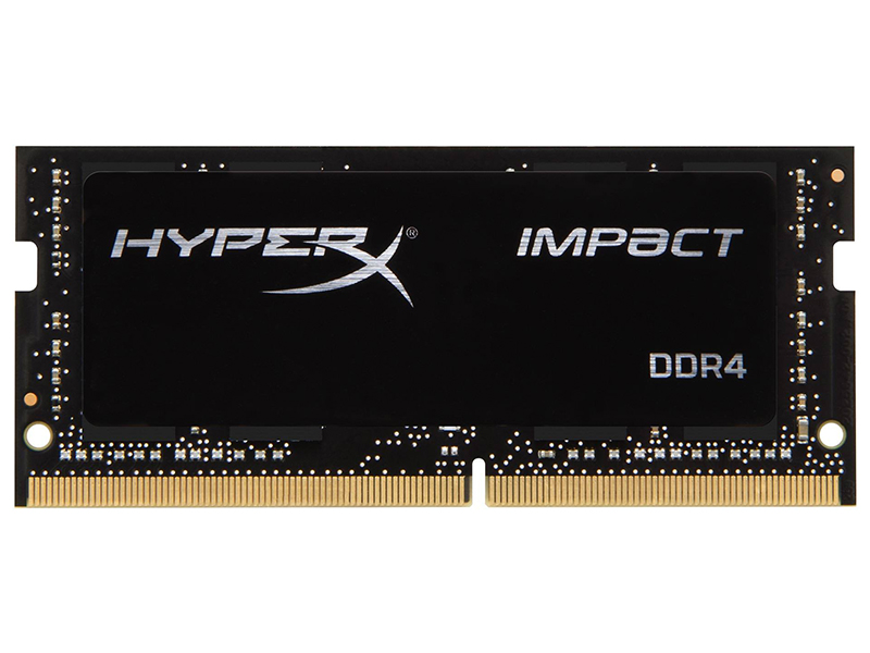Модуль памяти Kingston HyperX Impact DDR4 SODIMM 3200MHz PC4-25600 CL20 - 16Gb HX432S20IB/16