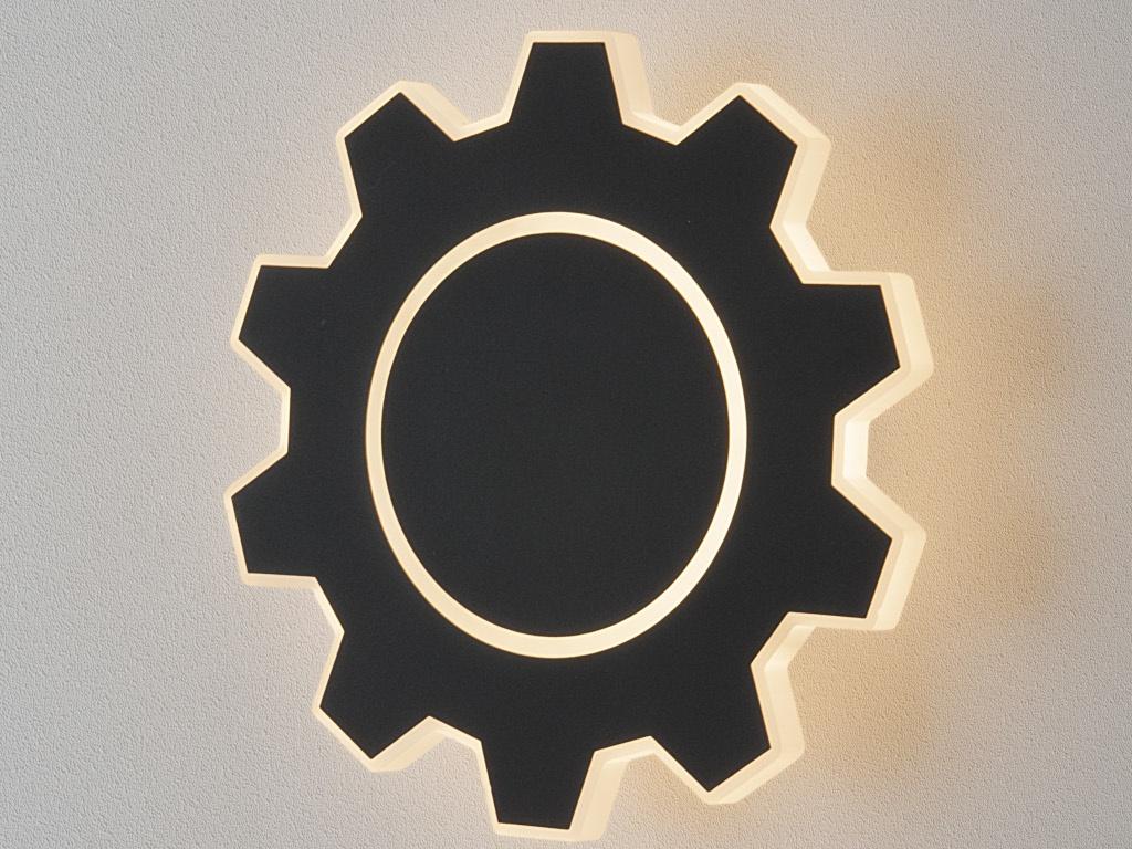 Светильник Elektrostandard Gear M LED Black MRL LED 1095 mrl