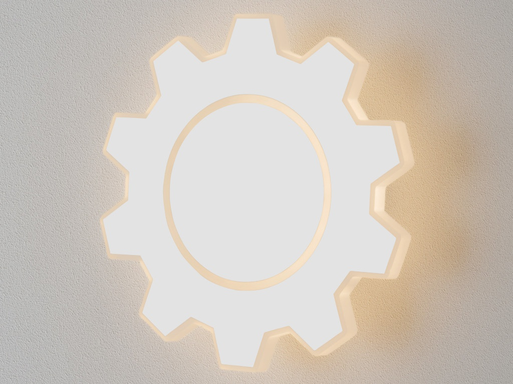 Светильник Elektrostandard Gear M LED White MRL 1095