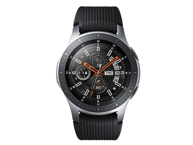 Умные часы Samsung Galaxy Watch 46mm Silver Steel SM-R800NZSASER + CGpods Выгодный набор + серт. 200Р!!! часы samsung galaxy watch 46 mm sm r800 серебристая сталь