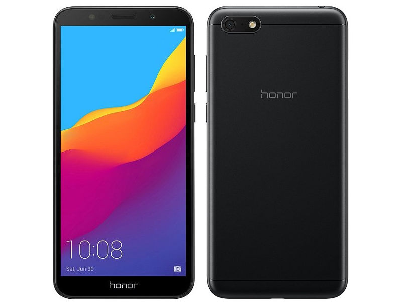 Сотовый телефон Honor 7A Black New Выгодный набор + серт. 200Р!!! сотовый