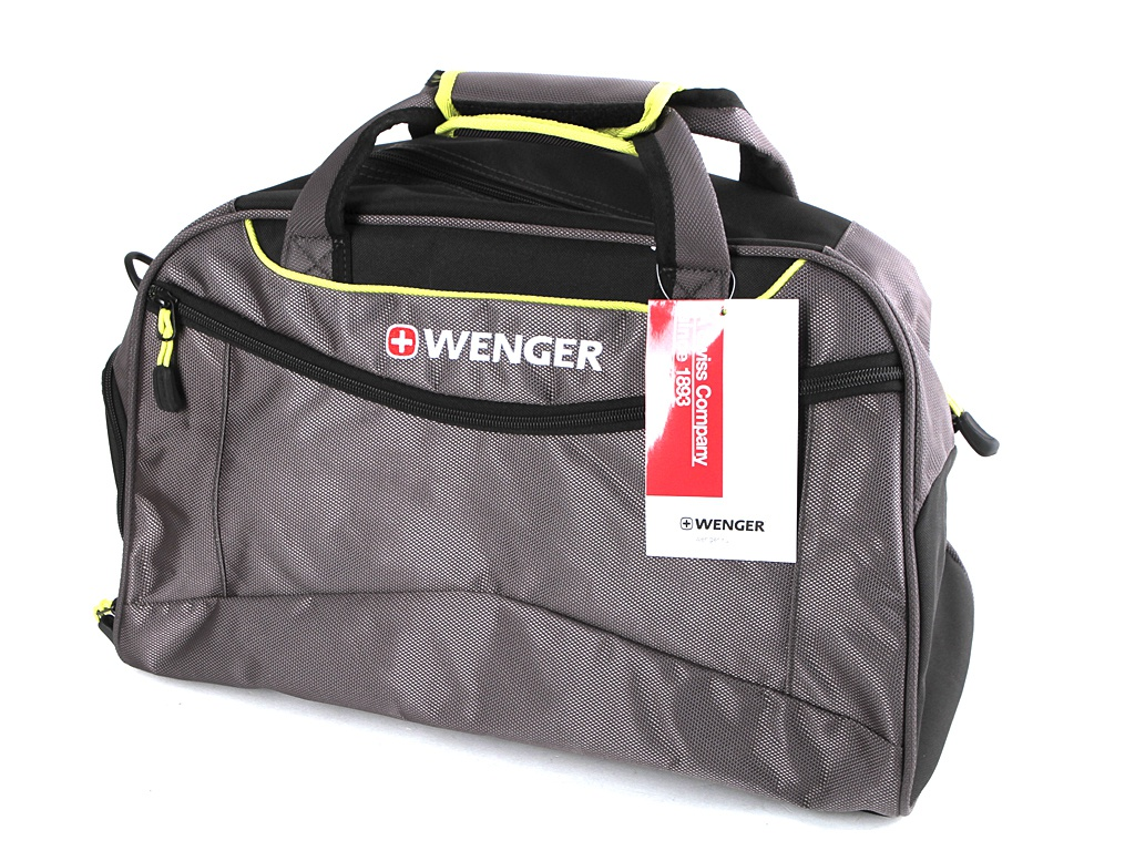 Сумка Wenger 48x24x30 Grey-Lime 72614619