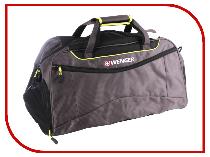 Сумка Wenger 57x28x30 Grey-Lime 72614661