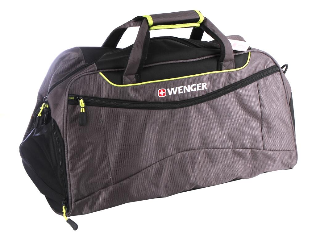 купить Сумка Wenger 57x28x30 Grey-Lime 72614661 по цене 3823 рублей