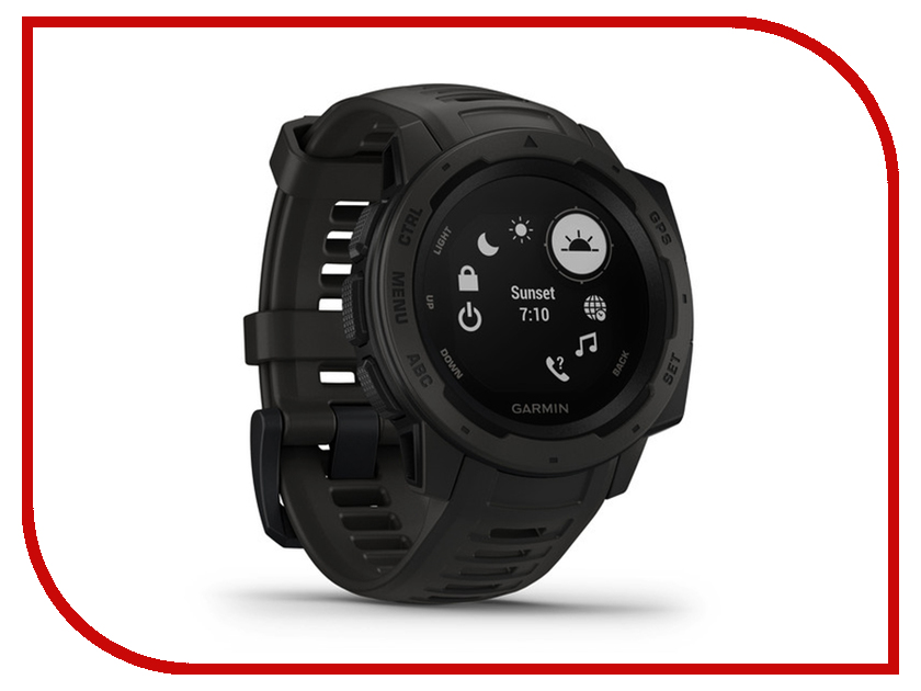 Умные часы Garmin Instinct Monterra Black 010-02064-00