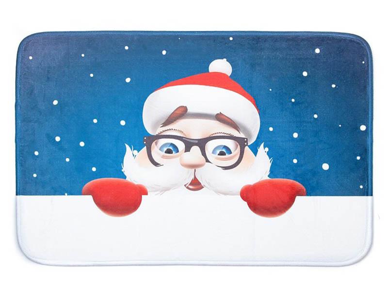 Коврик Доляна Дедушка Мороз 40x60cm 3542515 недорго, оригинальная цена