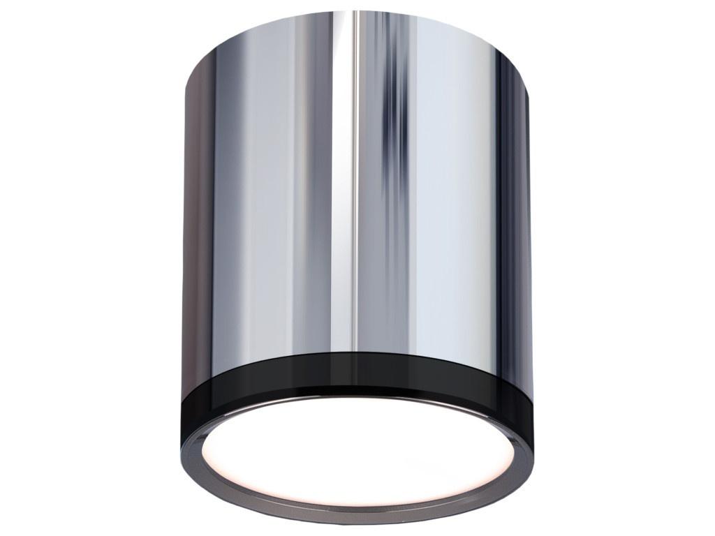 Светильник Elektrostandard DLR024 6W 4200K Chrome-Black Chrome
