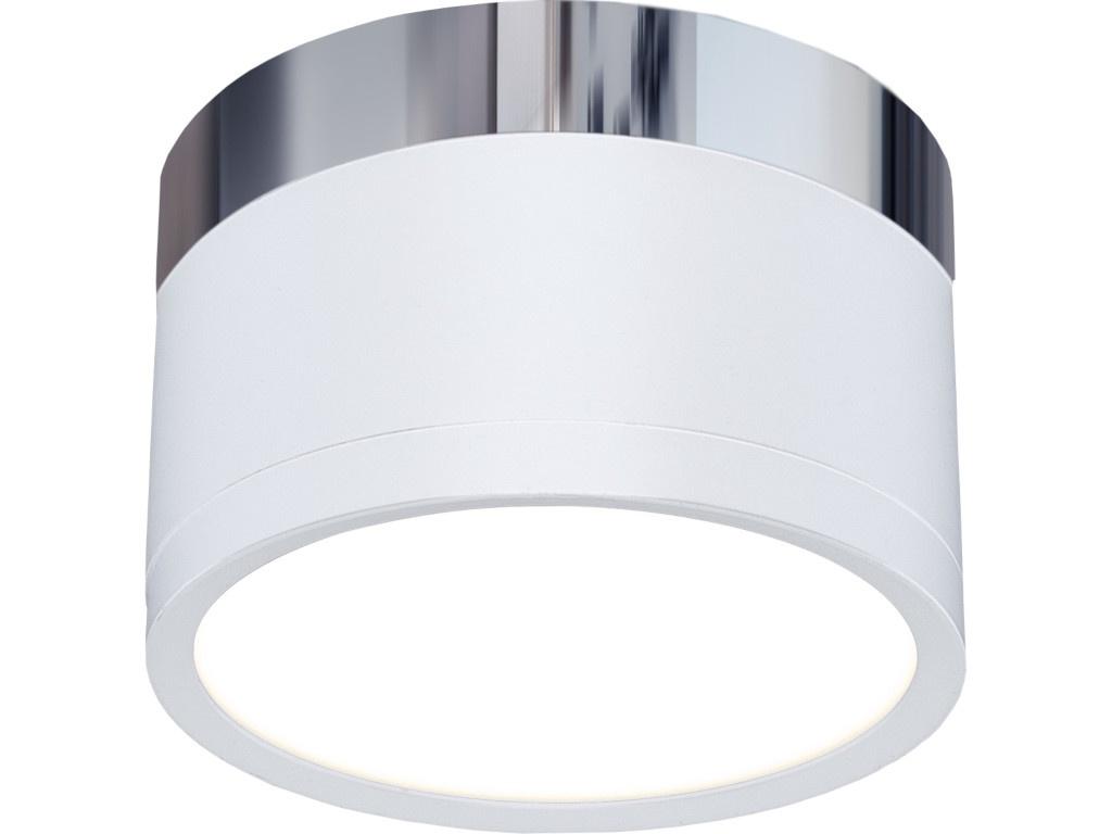 Светильник Elektrostandard DLR029 10W 4200K Matt White-Chrome