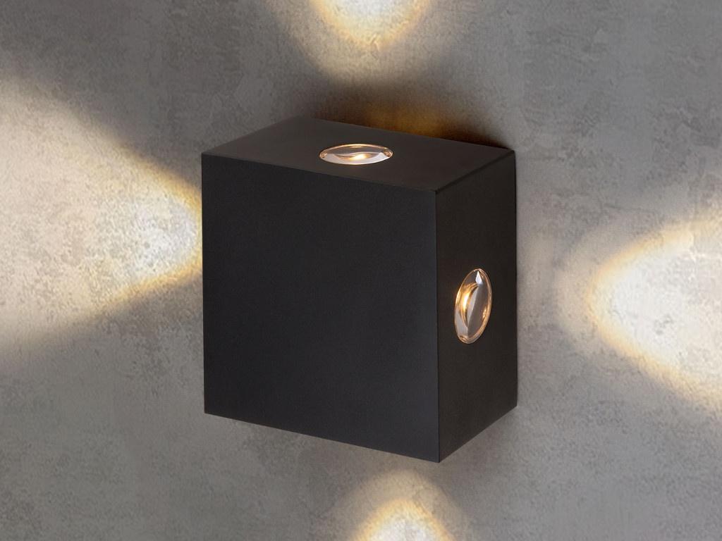 Светильник Elektrostandard 1601 Techno LED Kvatra Black