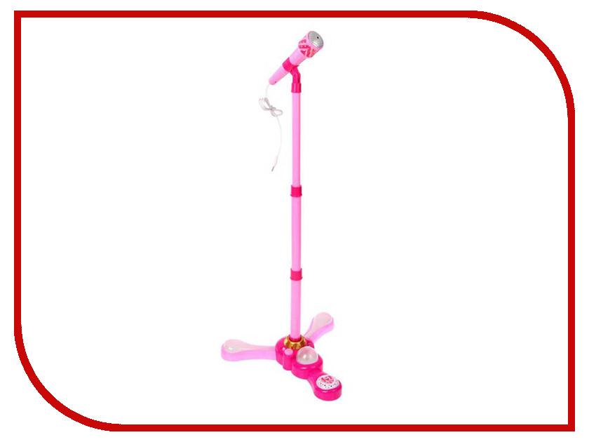 Детский музыкальный инструмент СИМА-ЛЕНД Микрофон на стойке Дива 2457881 кухонный набор сима ленд шеф повар хрюша 3505364