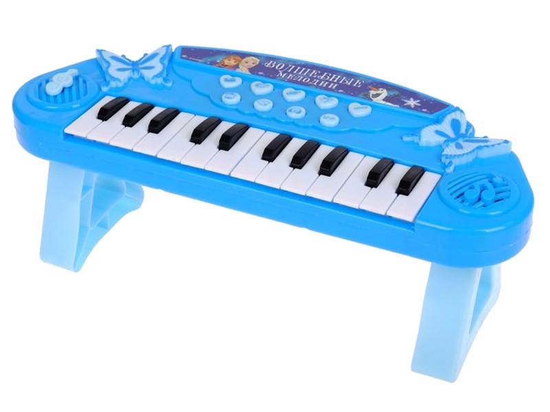 цена на Детский музыкальный инструмент Disney Синтезатор Холодное сердце Волшебные мелодии 2875747