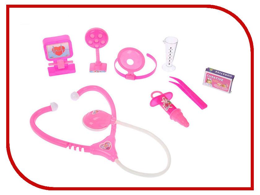 Набор доктора СИМА-ЛЕНД Поликлиника Pink 2430318 кухонный набор сима ленд шеф повар хрюша 3505364