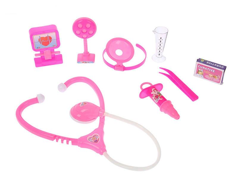 Набор доктора СИМА-ЛЕНД Поликлиника Pink 2430318