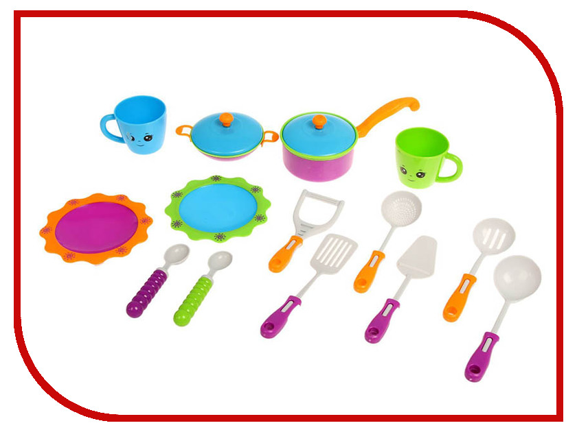 Набор посуды СИМА-ЛЕНД Глазастики 2437284 украшение сима ленд набор шаров гранд 6шт зимний лес 2131429
