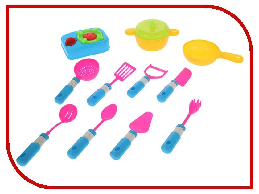 Набор посуды СИМА-ЛЕНД Маленький шеф-5 1890592 украшение сима ленд набор шаров ледяной блеск 6шт golden 1346566