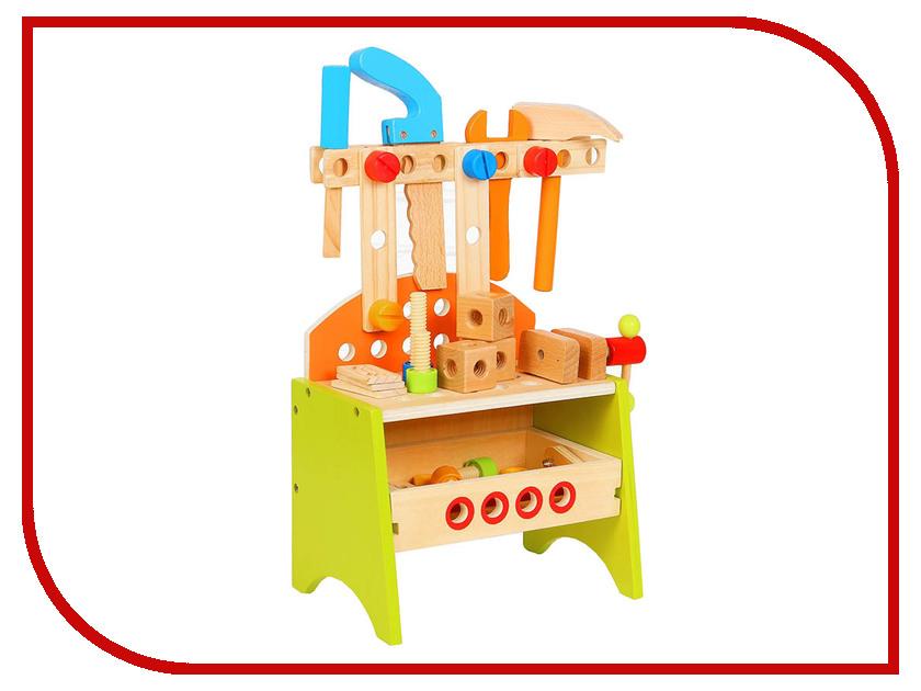 Игровой набор СИМА-ЛЕНД Столярная мастерская 3048120 кухонный набор сима ленд шеф повар хрюша 3505364