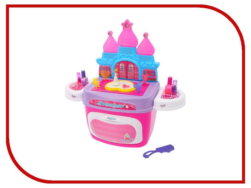Игровой набор СИМА-ЛЕНД Замок принцессы с аксессуарами в чемодане 2322948 кухонный набор сима ленд шеф повар хрюша 3505364