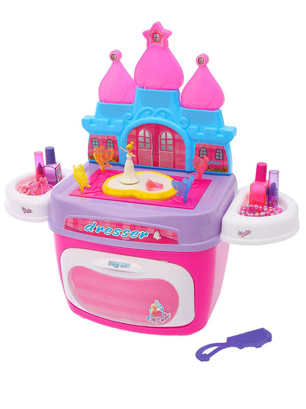 Игровой набор СИМА-ЛЕНД Замок принцессы с аксессуарами в чемодане 2322948