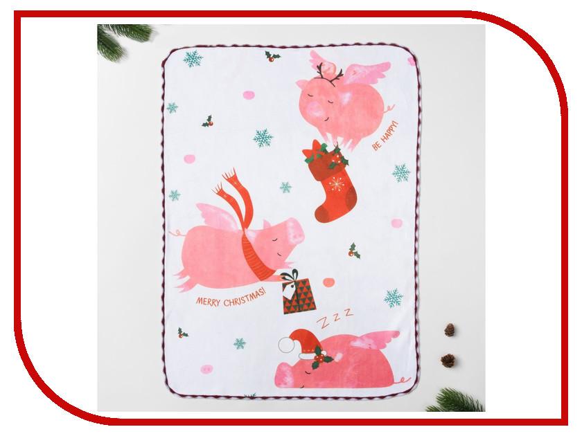 Полотенце Доляна Счастливого Рождества 40x60cm 3469111 бумага пергаментная rayher счастливого рождества