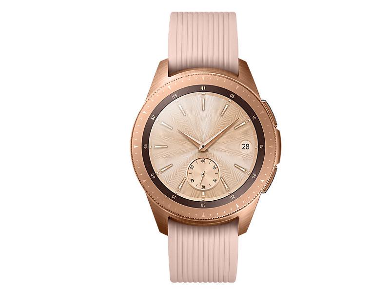 Умные часы Samsung Galaxy Watch 42mm Rose Gold SM-R810NZDASER Выгодный набор + серт. 200Р!!!