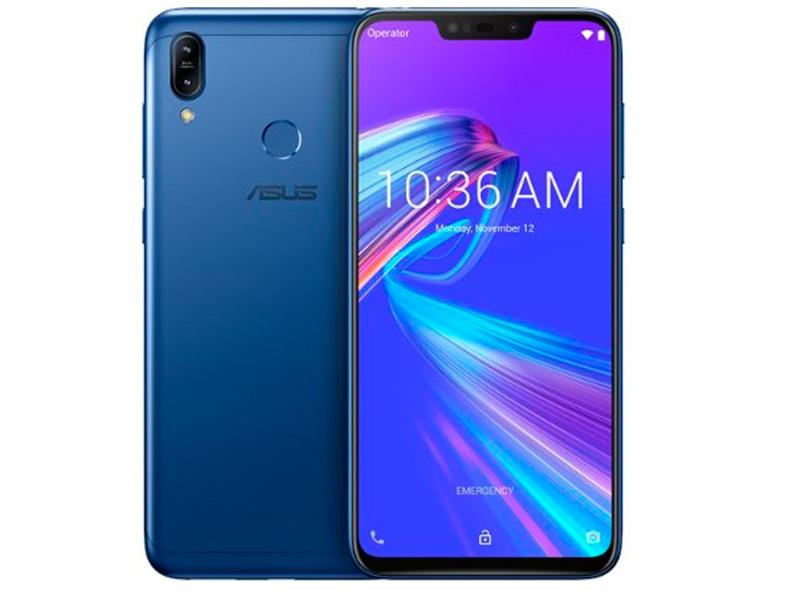 Сотовый телефон ASUS ZenFone Max M2 ZB633KL 32Gb Blue телефон asus zenfone 2 ze551ml 32gb ram 4gb золотой