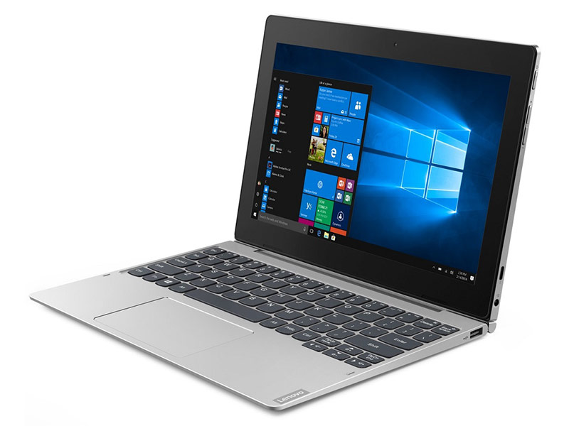 Планшет Lenovo IdeaPad D330-10IGM 81H3003FRU (Intel Pentium N5000 1.1 GHz/4096Mb/128Gb/Wi-Fi/Bluetooth/Cam/10.1/1920x1080/Windows 10 64-bit) цена