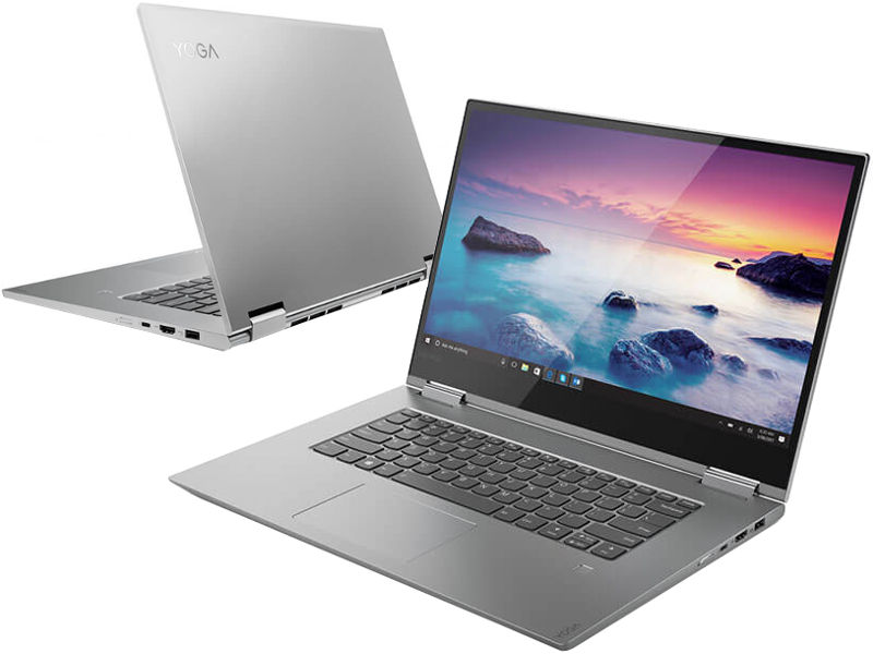 Ноутбук Lenovo Yoga 730-15IWL Grey 81JS000QRU (Intel Core i5-8265U 1.6 GHz/8192Mb/256Gb SSD/nVidia GeForce GTX 1050 4096Mb/Wi-Fi/Bluetooth/Cam/15.6/1920x1080/Touchscreen/Windows 10 Home 64-bit) ноутбук lenovo yoga 720 15ikb 80x70031rk intel core i5 7300hq 2 5 ghz 8192mb 256gb no odd nvidia geforce gtx 1050 4096mb wi fi bluetooth cam 15 6 1920x1080 touchscreen windows 10 64 bit