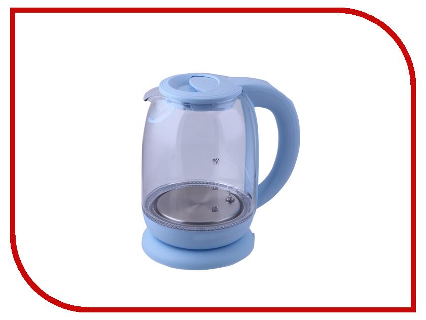 Чайник Kitfort KT-640-1 Light Blue чайник kitfort kt 637