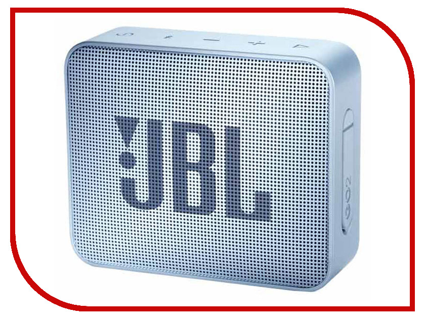 купить Колонка JBL Go 2 Cyan