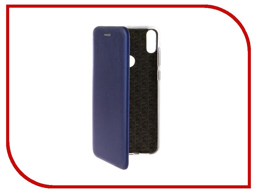 Аксессуар Чехол для ASUS Zenfone Max Pro M1 ZB602KL Zibelino Book Blue ZB-ASUS-ZB602KL-BLU сотовый телефон asus zenfone max pro m1 zb602kl 3 32gb blue
